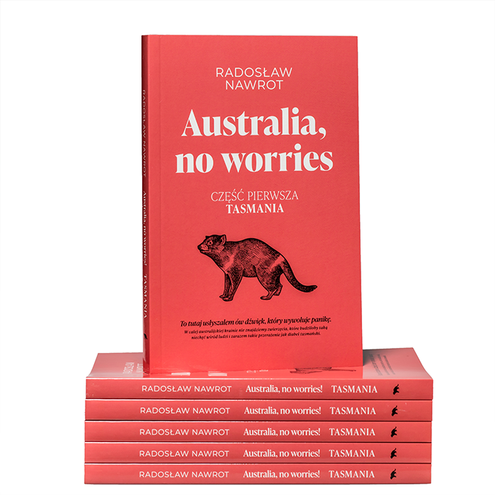 Australia no worries - mockup maly